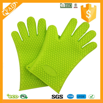 Kitchen Cooking Silicone Heat Resistant Gloves