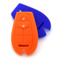 Colorful hot selling silicone car key cover