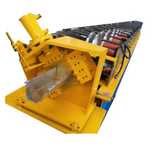 K style gutter roll forming machine