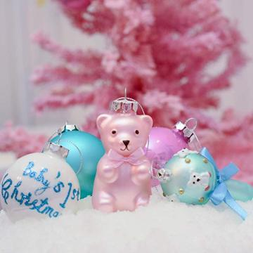 Wholesale PriceList for China Christmas Ball Ornaments,Christmas Ball Ornaments Bulk,Large Christmas Ball Ornaments Manufacturer and Supplier Baby's First Christmas Ornament Glass Customized Xmas Ornament supply to Japan Importers
