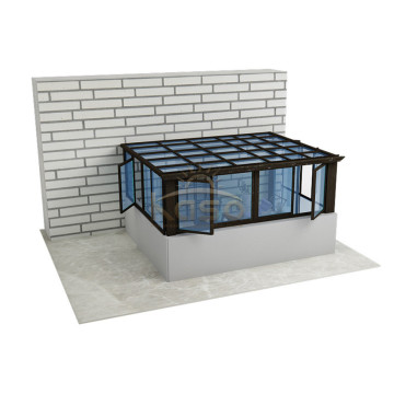 Lean Industrial Greenhouse Hexagonal Sunroom