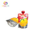 Resealable Laminated Plastic Juice Pouch With Spout