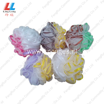 fizzy mesh mixture shower sponge ball