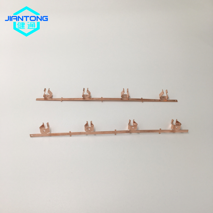 Custom Wire Connector Copper Stamped Metal Pressing Parts