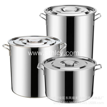 Stainless Steel Non-magnetic Thick Soup Bucket