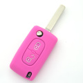 funny OEM silicone car key case for Peugeot