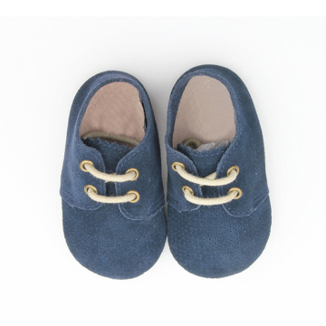 Soft Sole Baby Boy Happy Oxford Shoes