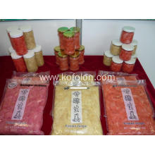 China New Product for Pickled Ginger grade a sushi ginger natural color supply to Antarctica Suppliers