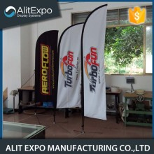 Outdoor/indoor advertisement flying banner display for event