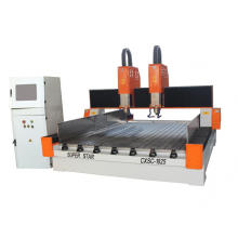 Double heads stone cnc carving Machine