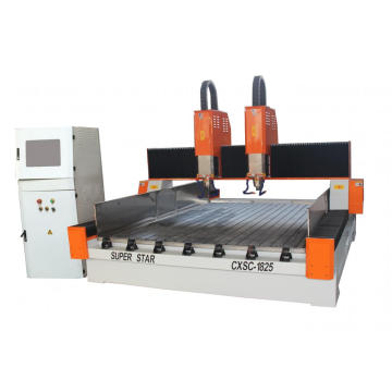 Double Heads Marble CNC Cutting Machine
