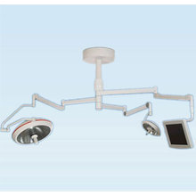 Hanging arm operating room camera system