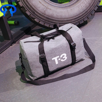 Canvas fashion fitness bag