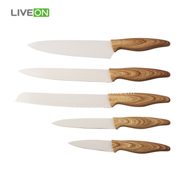 5 pcs Coating Knife Set With PP Block