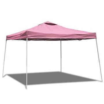 Truck-mounted folding outdoor picnic tent