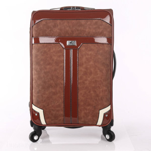 Classic vintage PU leather business travel luggage