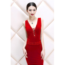 Women's women's women's dress hostess dress, lace and gown, long evening dress, long dress and long skirt