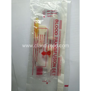 Disposable Blood Transfusion Set With Needle For Hypodermic