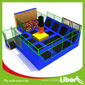 Hot selling attractive for Indoor Trampoline Park, Indoor Trampoline Equipment, Indoor Trampoline Park Builder in China Kids indoor trampoline park franchise cost export to Wallis And Futuna Islands Manufacturer