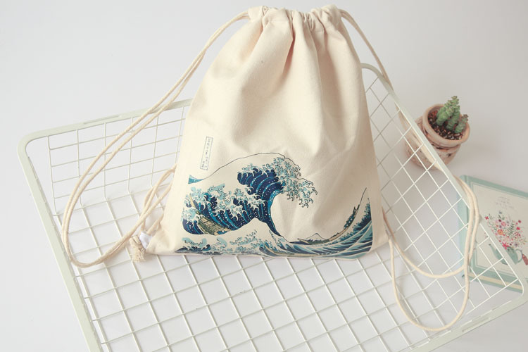 drawstring bag how to sew