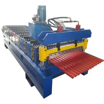 Color Steel Corrugated Wave Profile Roll Forming Machine