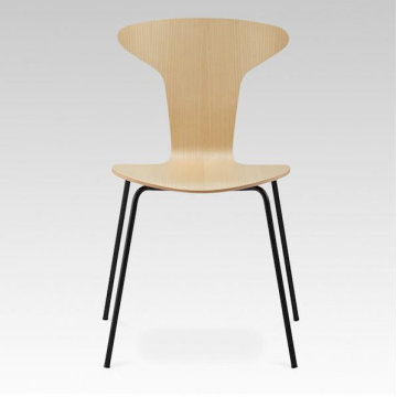 20 Years manufacturer for China Wood Replica Dining Chair,Luxury Replica Dining Chair,Replica Stainless Steel Dining Chair Factory Jacobsen Mosquito Chair Wood Veneer dining chair export to Poland Suppliers