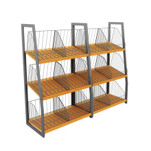 Factory directly sale for Single Sided Vegetable Shelves Steel Fruit And Vegetable Shelves export to Liberia Wholesale