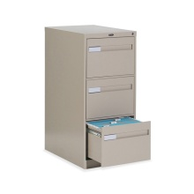 Office Metal Vertical 3 Drawers Filing Storage Cabinet