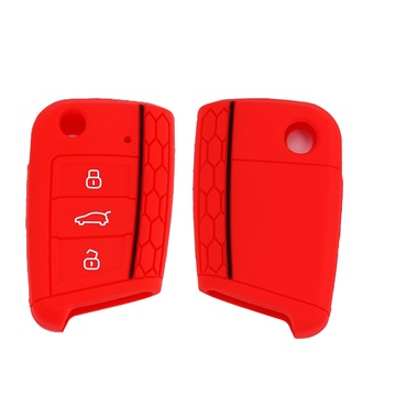 2019 Silicone Car Key Cover For Golf 7