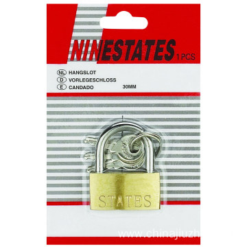 Best Quality for Thin Type Brass Padlock,Gate Brass Padlock,Single Skin Brass Padlock Wholesale Single Skin Card and Twosome Skin Card supply to Montenegro Suppliers
