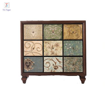 Modern Wood Home French Style cloths Antique Cabinet