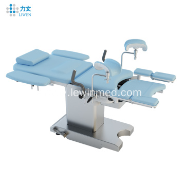 Gynecological Obstetric Multifunctional Delivery Table