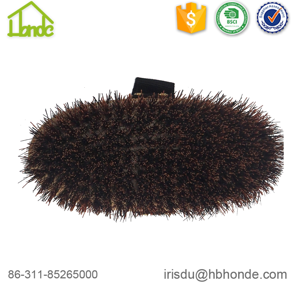Wood Horse Body Brush with PP Bristle
