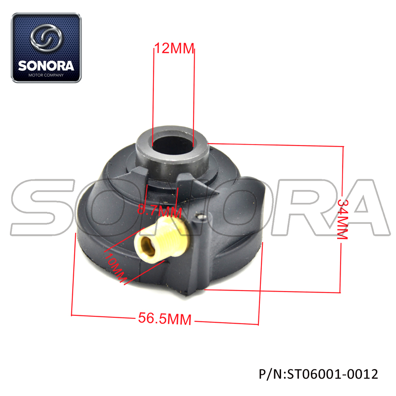 SPEEDO DRIVE FOR Piaggio Zip (P/N:ST06001-0012) Top Quality