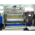 automatic 1500 mm pe cling food wrap film machinery line