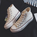 Lace up High Top Women's Canvas Shoes