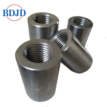 building straight screw steel rebar coupler