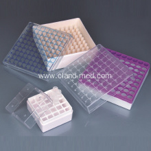Customized for Microcentrifuge Tubes Cryovial Storage Boxes for 1ml and 2ml Tubes supply to Cape Verde Manufacturers