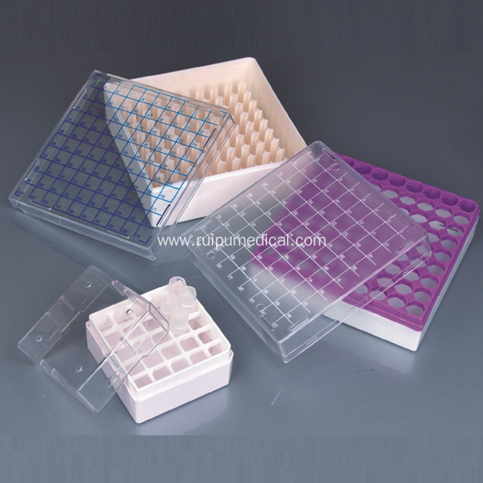 Cryovial Storage Boxes for 1ml and 2ml Tubes