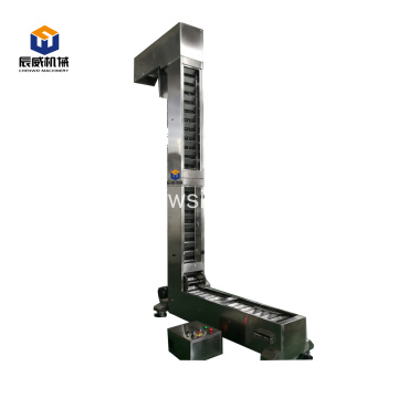 food grade z type small bucket elevator