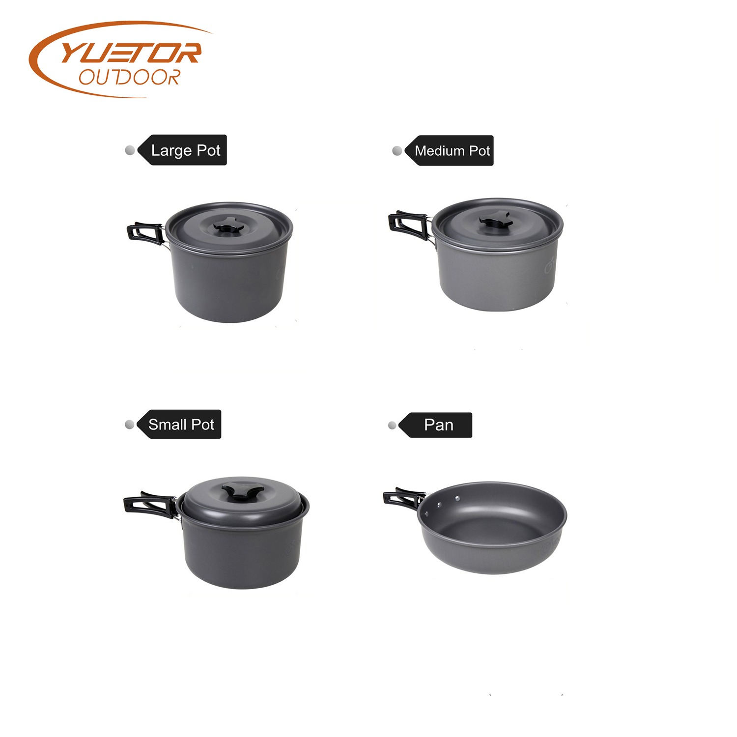 14PCS Cooking Gear