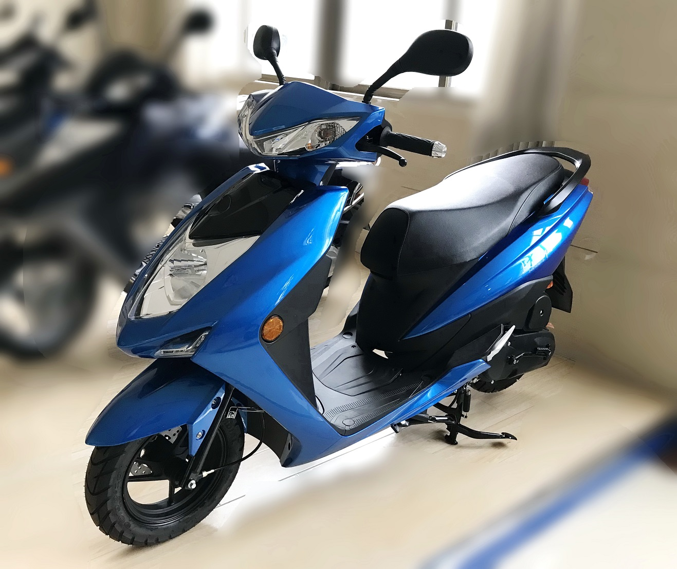 100cc gas scooter