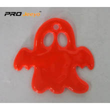 Red PVC Ghost Shape Pendant
