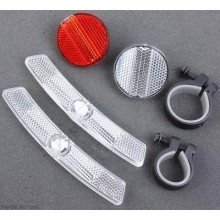 PVC Plastic Bicycle Reflector