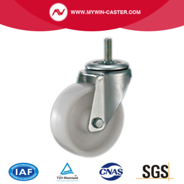 Thread Stem Swivel PP Industrial Caster