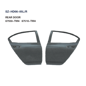 Steel Body Autoparts Honda 2008-2014 CITY REAR DOOR