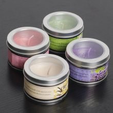 100% Original Factory for Scented Jar Candles Paraffin Wax Couloured Gift Candles in Travel Tin supply to Netherlands Exporter