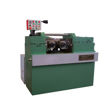 Hydraulic automatic rebar thread rolling machine