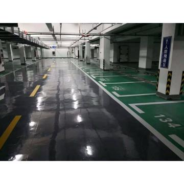 Garage high-strength epoxy resin coating floor