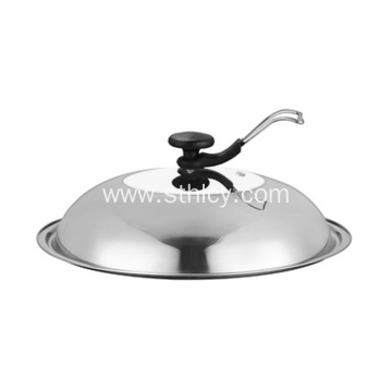 Stainless Steel Pot Cover 30-40cm Combination